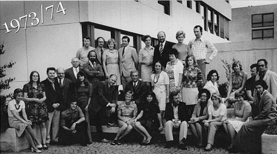 Lehrerkollegium 1973-74