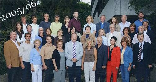 Lehrerkollegium 2005-2006